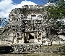 Ruins of an Aztec Temple